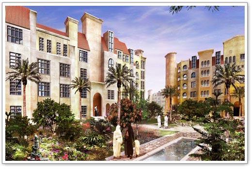 Discovery Garden, Apartment